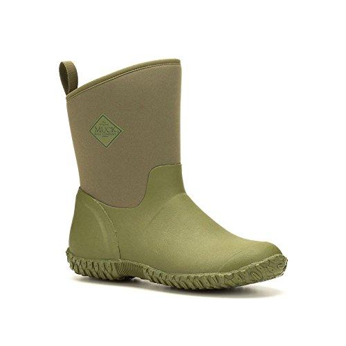 Muck Boots Muckster Ll Mid-Height Women's Rubber Garden Boot Moss Green, Tomatoes
