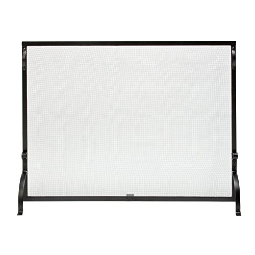 Uniflame Single Panel Haven Fireplace Screen