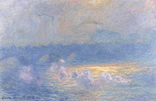 - Claude Monet Waterloo Bridge, Sunlight Effect with Smoke Baltimore Museum of Art 30
