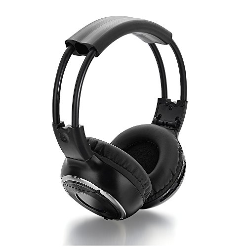 Universal Rear Entertainment System Infrared Headphones with 4 X 48