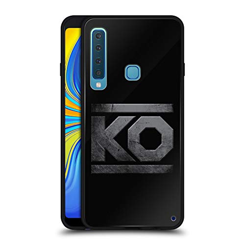 Official WWE KO Metal Kevin Owens Black Hybrid Glass Back Case Compatible for Samsung Galaxy A9 (2018) / A9s ()