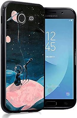 Amazon.com: Ximalaya Space cat Samsung Galaxy J5 2017 Case ...