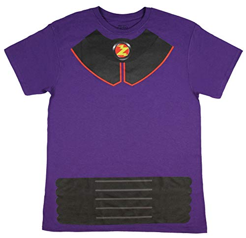 Disney Pixar Toy Story Shirt Men's I Am Zurg Toy Character Costume Tee Adult Licensed T-Shirt (Large) Purple]()
