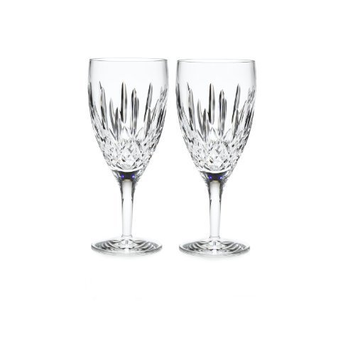 Nouveau Iced - Waterford Lismore Nouveau Iced Beverage Pair, 14-Ounce by Waterford Crystal