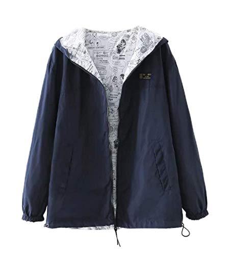 Automne Coupe Simple Printemps Outerwear Shirts Casual Fashion Jacket Sweat Manches Femmes Jeune Vent Longues Manteau Fashion Hoodie Tops wqBEaqxC