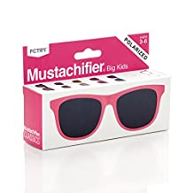 Mustachifier Baby Opticals Polarized Sunglasses - Pink, Ages 3-6