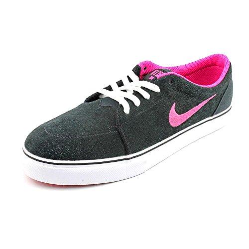 Nike Satire, Zapatillas de Skateboarding para Hombre BLACK/PINK FOIL/WHITE/WHITE