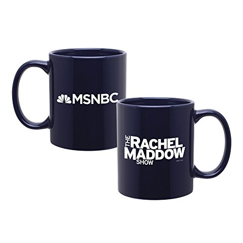 Rachel Maddow Mug   Official Blue Mug As Seen On The Rachel Maddow Show On Msnbc