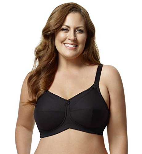 (Elila 2-ply Cotton Support Softcup Nursing Bra)