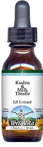 Kudzu & Milk Thistle Glycerite Liquid Extract (1:5) - No Flavor (1 oz, ZIN: 522642)