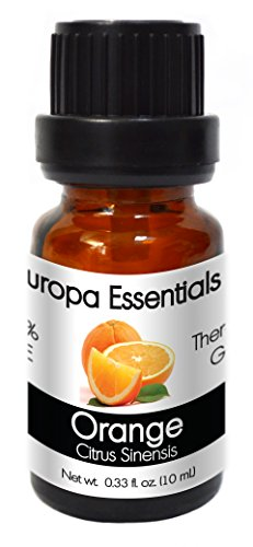 Aroma Scent (Europa Essentials 100% PURE Therapeutic Grade Essential Oils, 31 Aromatherapy Scents Collection – Orange, 10ml)
