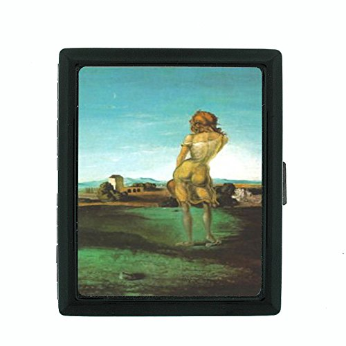 Salvador Dali Girl With Curls Cigarette Case - Salvador Cigarette Case Dali