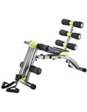 Wonder Core 2 Sit up Exerciser - 12 in 1 Ultimate Fitness Equipment, Ergonomic Design, Beyond 180° Stretching, 360° Twisting