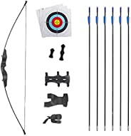 Klite Traditional Recurve Bow 51'' Archery Hunting Handmade Horse Bow Longbo
