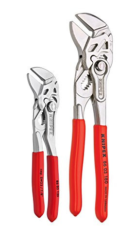 KNIPEX Tools 9K 00 80 121 US Small Pliers Wrench Tool Set (2 Piece) ()