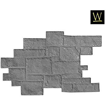 vertical concrete stamps concrete stamps slate Texture Stamps Mats wall molds