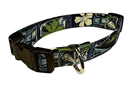 Elmou0027s Closet Tapa Dog Collar   Large