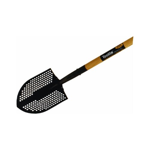 Midwest Rake Company GIDDS2-287010 Toolite Round Point Wood Handle Shovel, 48