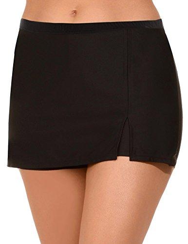 Shore-Club-Womens-Plus-Size-Skort-24-Black