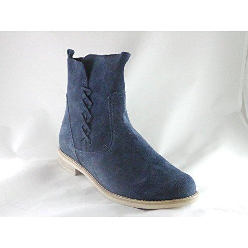 Marco Tozzi - Botas para mujer azul azul