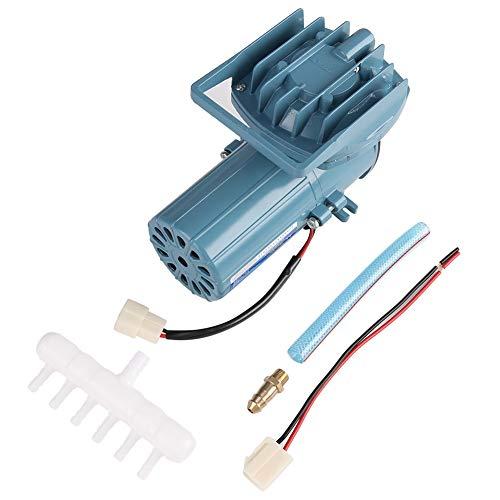 (Hanpmy Aquarium Air Pump Portable DC 12V 35W Fish Pond Aquaculture Aquarium Air Pump Aerator Accessory Tool)