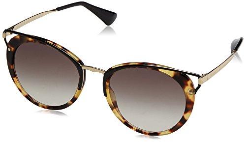Prada Grey Sonnenbrille Havana Marrón Medium 66TS PR zYnrzP