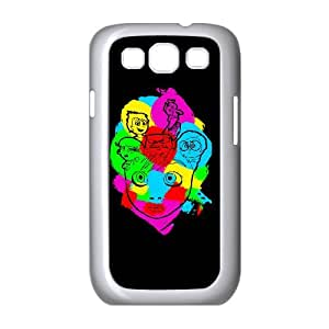 Samsung Galaxy S3 9300 Cell Phone Case White COLORFULL INSIDE OUT SUX_872665