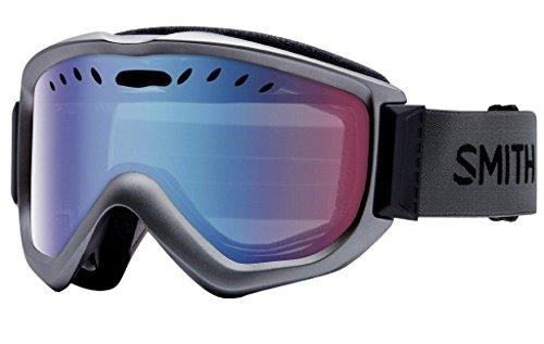 Smith Optics Adult Knowledge OTG Snow Goggles Graphite Frame/Blue Sensor Mirror