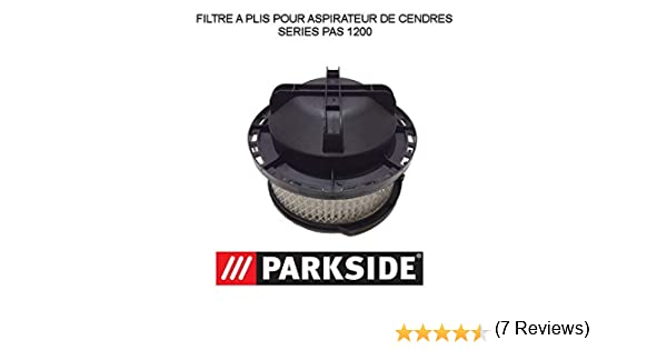Filtro para aspiradora de cenizas Parkside pas 1200: Amazon.es: Hogar