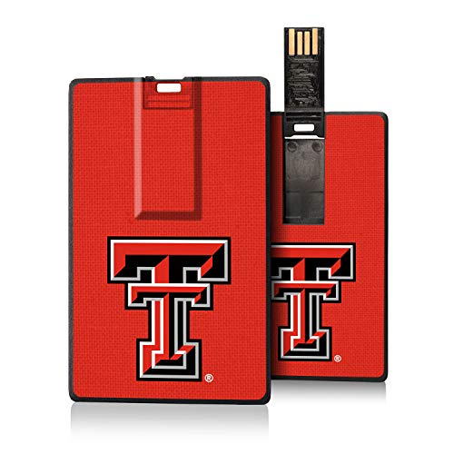 Keyscaper TT Texas Tech Red Raiders Solid Credit Card USB Drive for /#