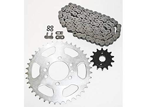 2003-2008 Suzuki LTZ400 Z400 400 O Ring Chain and Sprocket Black 14/40 96L CycleATV