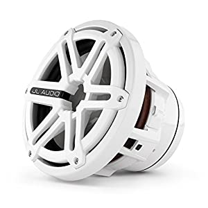 "JL Audio M8IB5-SG-WH 8"" Marine Audio 4 Ohm Subwoofer w/ White Sports Grille"
