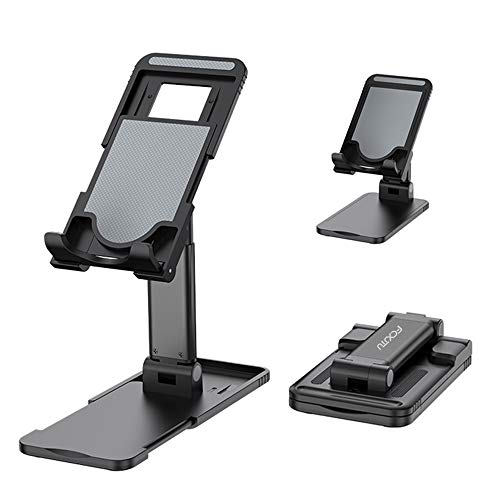 FCXJTU Cell Phone Stand, Tablet Stand, Foldable Portable Deskstop Stand, Multi-Angle and Height Adjustable Phone Holder…