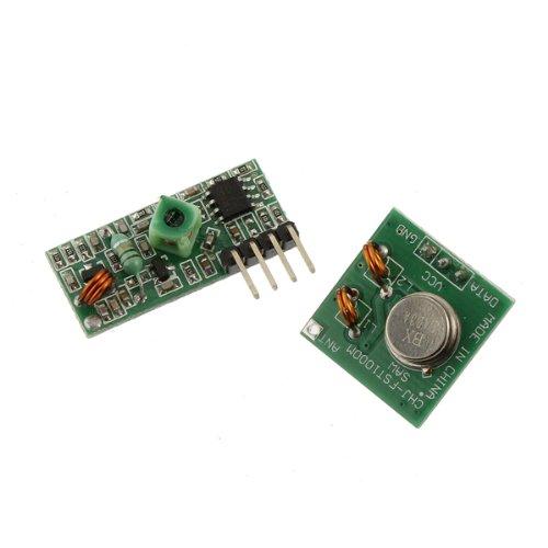 433Mhz RF Transmitter With Receiver Kit For Arduino ARM MCU Wireless Big Bargain SKU075671