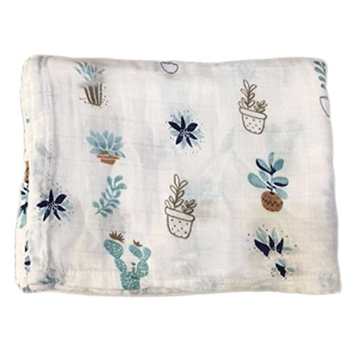 Leaf Pattern Pram Blanket - 2