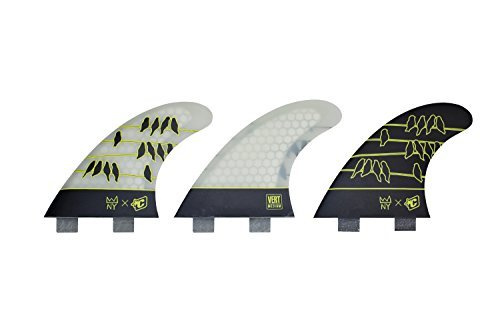 Creatures of Leisure Nat Young Vert Core Flex Dual Tab Fin White Medium [並行輸入品]   B06XFVSG4J