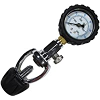 Scuba Choice Scuba Diving Yoke Tank Pressure Checker 5000 PSI 350 BAR
