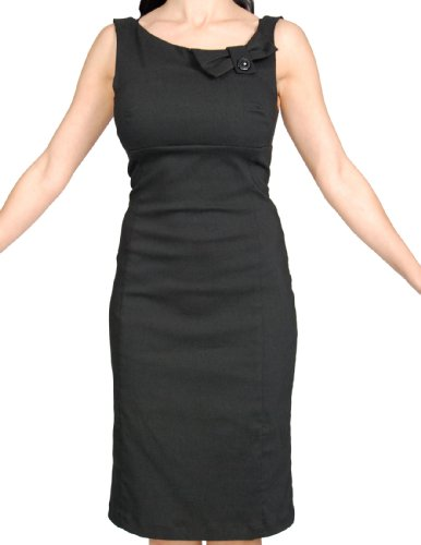 Steady-Clothing-Vintage-Design-Little-Black-Sexy-Strecth-Pencil-Dress