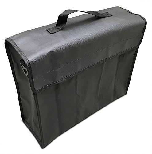 ch) Fireproof Bag 2000°F for Documents and Money by SlayMonday - Non Itchy, Strong Double Layer Heat Protection - XL Fire and Water Resistant Case to Protect Jewelry, Cash, Files ()