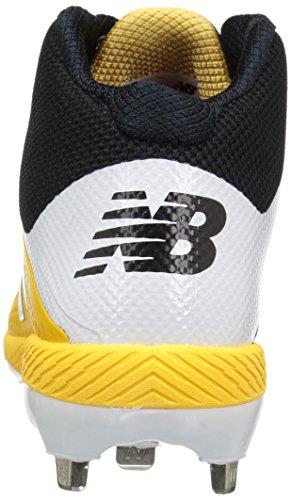 Men's New Balance M4040v4 yellow Black 4Zxxn6Ow