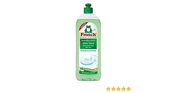 Frosch Lavavajillas Aloe Vera - 750 ml: Amazon.es: Salud y cuidado ...