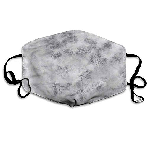 Marble Dust Mouth Mask Granite Stormy Details for Men and Women W4