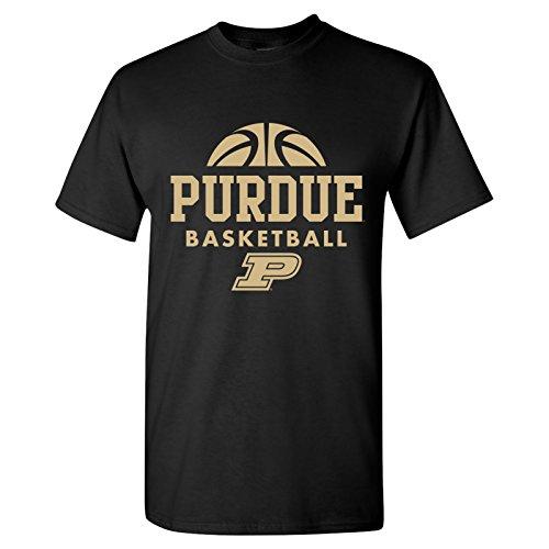 Purdue Boilermakers Basketball Hype Mens T-Shirt - Medium - Black ()