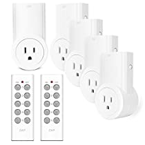 Etekcity Wireless Remote Control Outlet