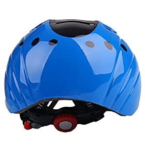 Kids Child Children Toddler Blue Bicycle Cycling Bike Helmet - Safety Protection Ultralight Sport Bike Skateboarding Skate Inline Skating Rollerblading Helmet for youth boy girl Student Pupil