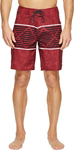Reef Men's Atlanta Boardshorts Maroon Swimsuit Bottoms