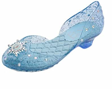 Amazon Com Disney Store Deluxe Frozen Elsa Light Up Shoes