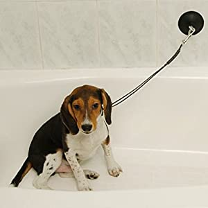 Dog Grooming Stay-N-Wash Tub Restraint Keeps Dog in Tub