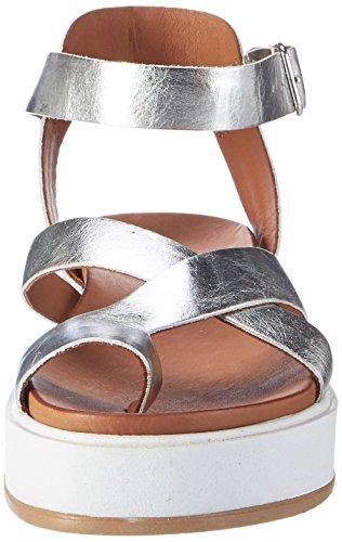 Inuovo 7457 - Tacones Mujer plateado (silver)