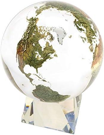 Amazing globo de cristal – esfera de cristal claro con Natural ...
